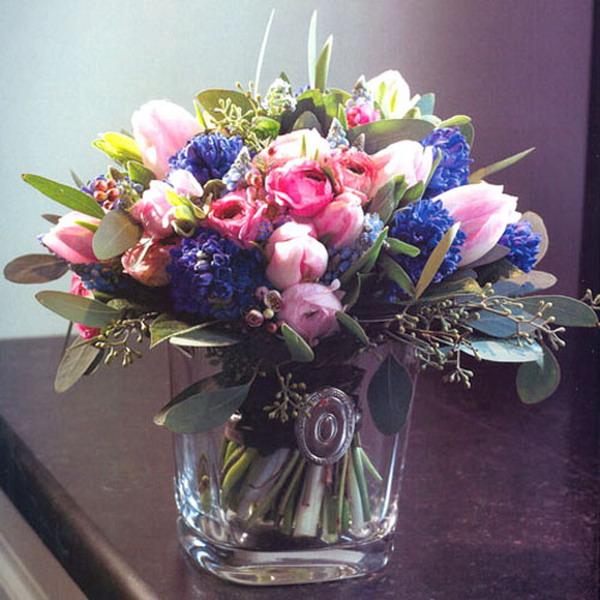 Красивые и необычные букеты цветов фото 15
