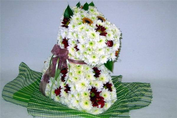 Красивые и необычные букеты цветов фото 4