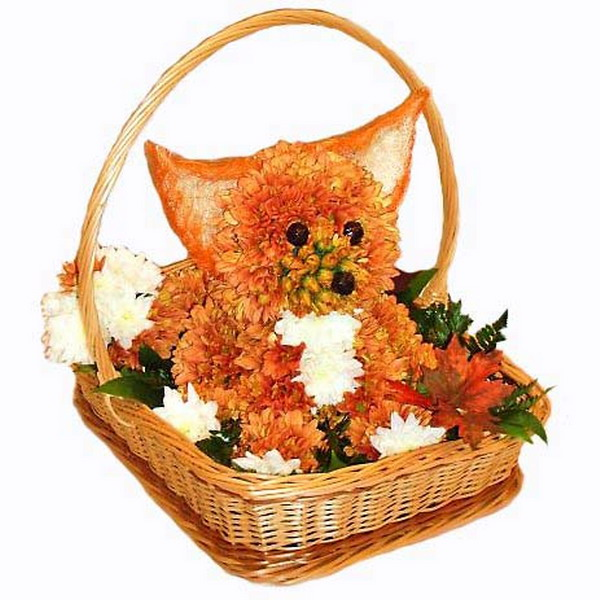 Красивые и необычные букеты цветов фото 8
