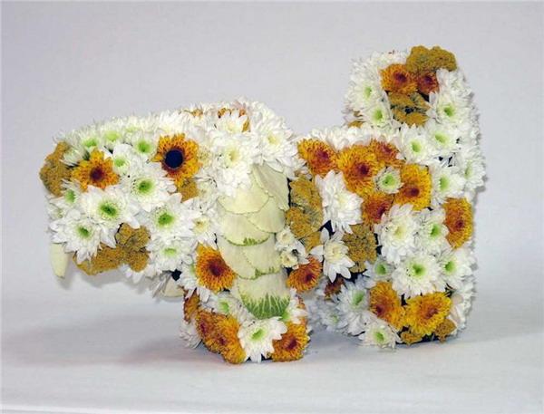 Красивые и необычные букеты цветов фото 9