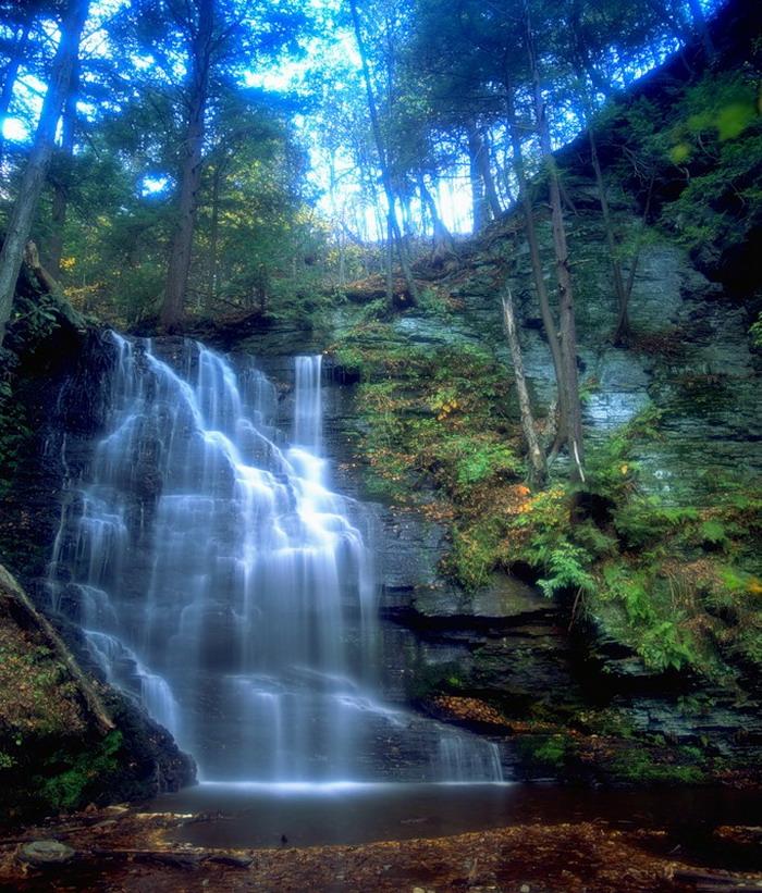 водопад фото 15