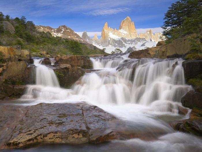 водопад фото 2