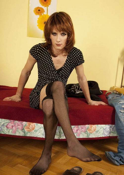 Трансвеститы домашнее фото в образе