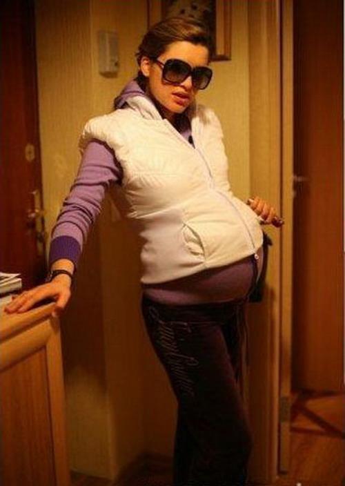 Фото ксюши бородиной беременной